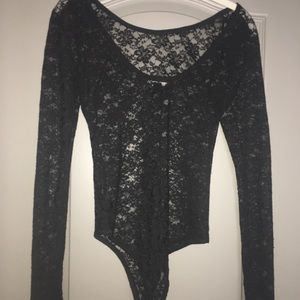 Forever 21 Other - Black lace bodysuit